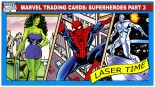 Marvel Trading Card Analysis – Super Heroes Part III