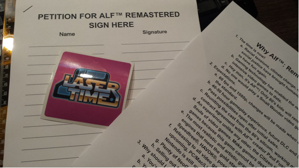 alf, remastered, tv show, PAX East