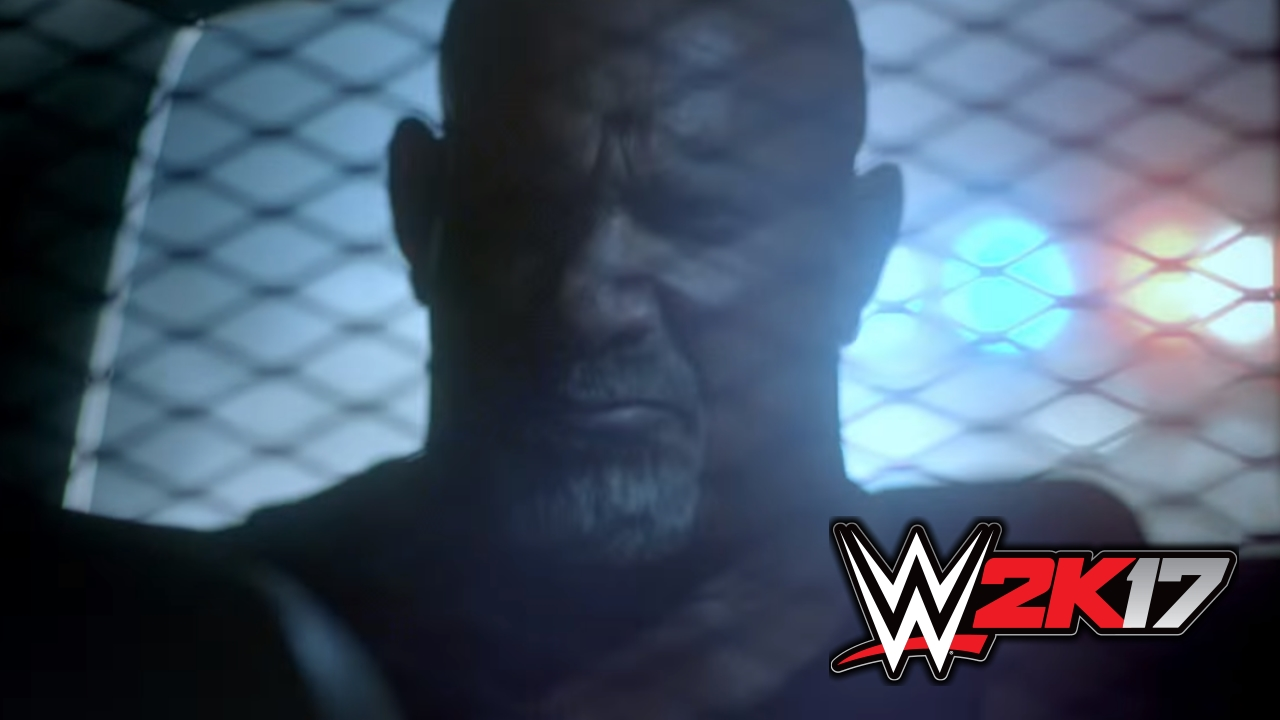 Goldberg WWE 2K17