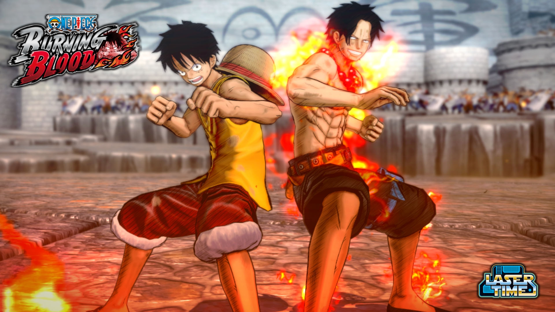 One Piece Burning Blood Stream