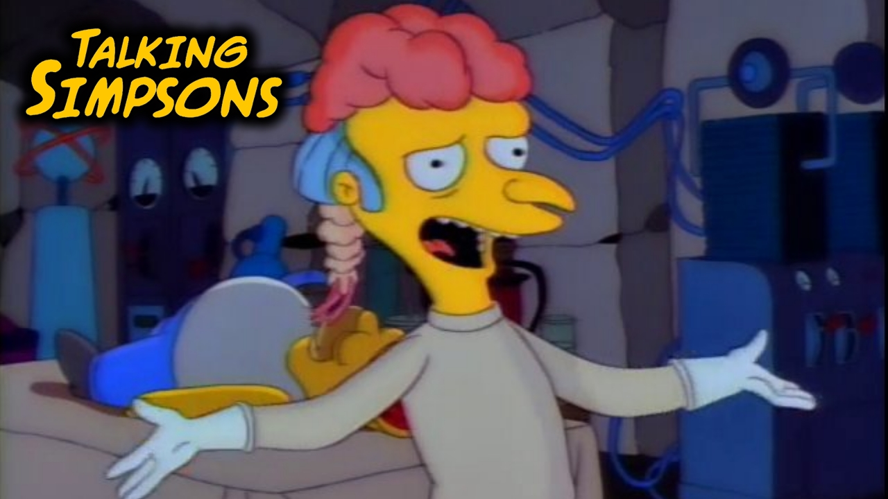 talking simpsons – treehouse of horrors ii – laser time