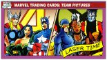 Marvel Trading Card Analysis – Team Pictures