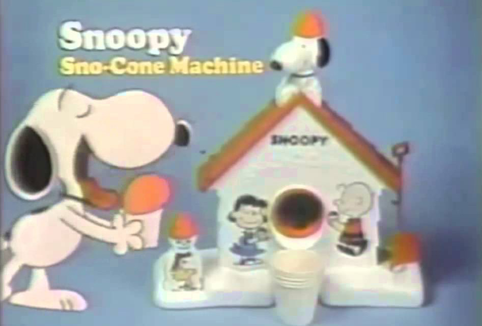 snoopy-snow-cone-machine-laser-time