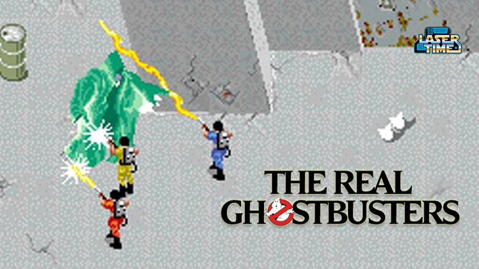 ghostbusters arcade game