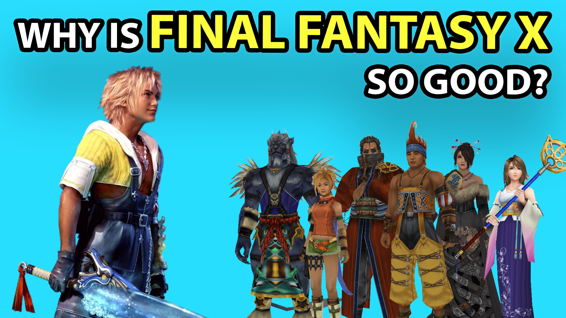 T Time, video games, Final Fantasy, Final Fantasy X, Final Fantasy 10, Final Fantasy X-2, Tidus, Yuna, HD, remaster, PS2, PS4, Square Enix