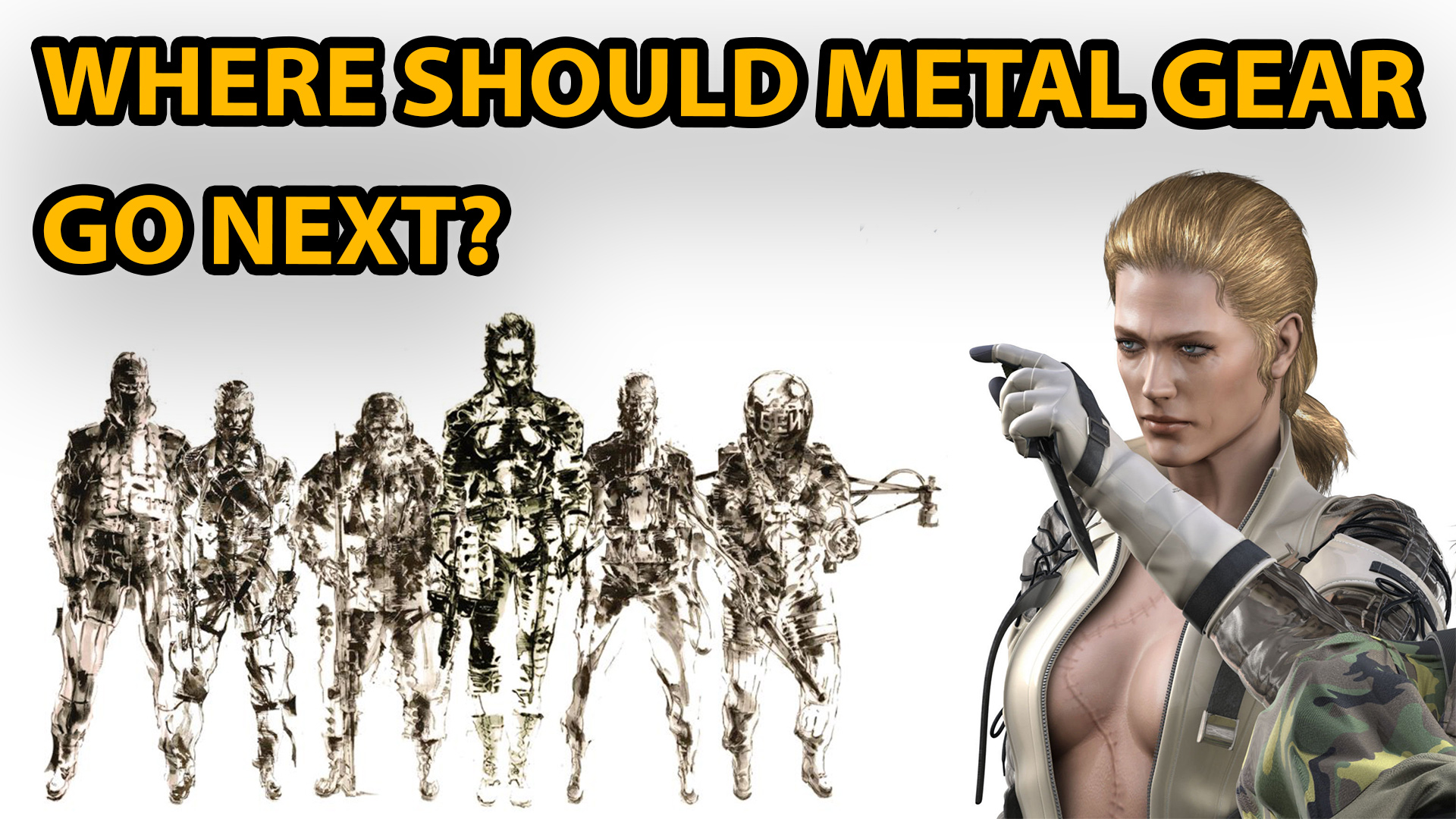 metal gear, metal gear solid, metal gear solid 6, the boss, konami, hideo kojima, metal gear survive, sequel