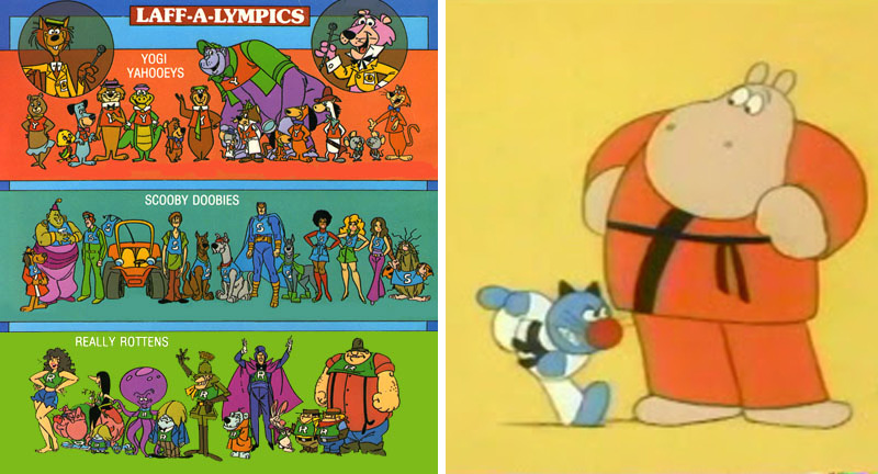 laff-o-lympics-sports-cartoons-nickelodeon