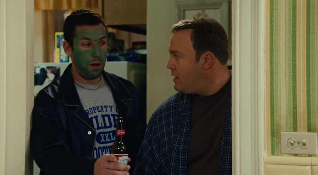 "Two dudes declare their love of Budweiser in ""I Now Pronounce You Chuck and Larry"""
