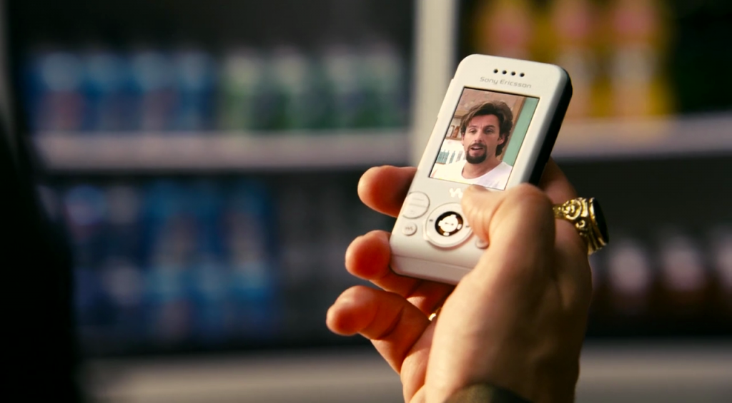 dont-mess-with-the-zohan-sony-ericcson-phone-laser-time