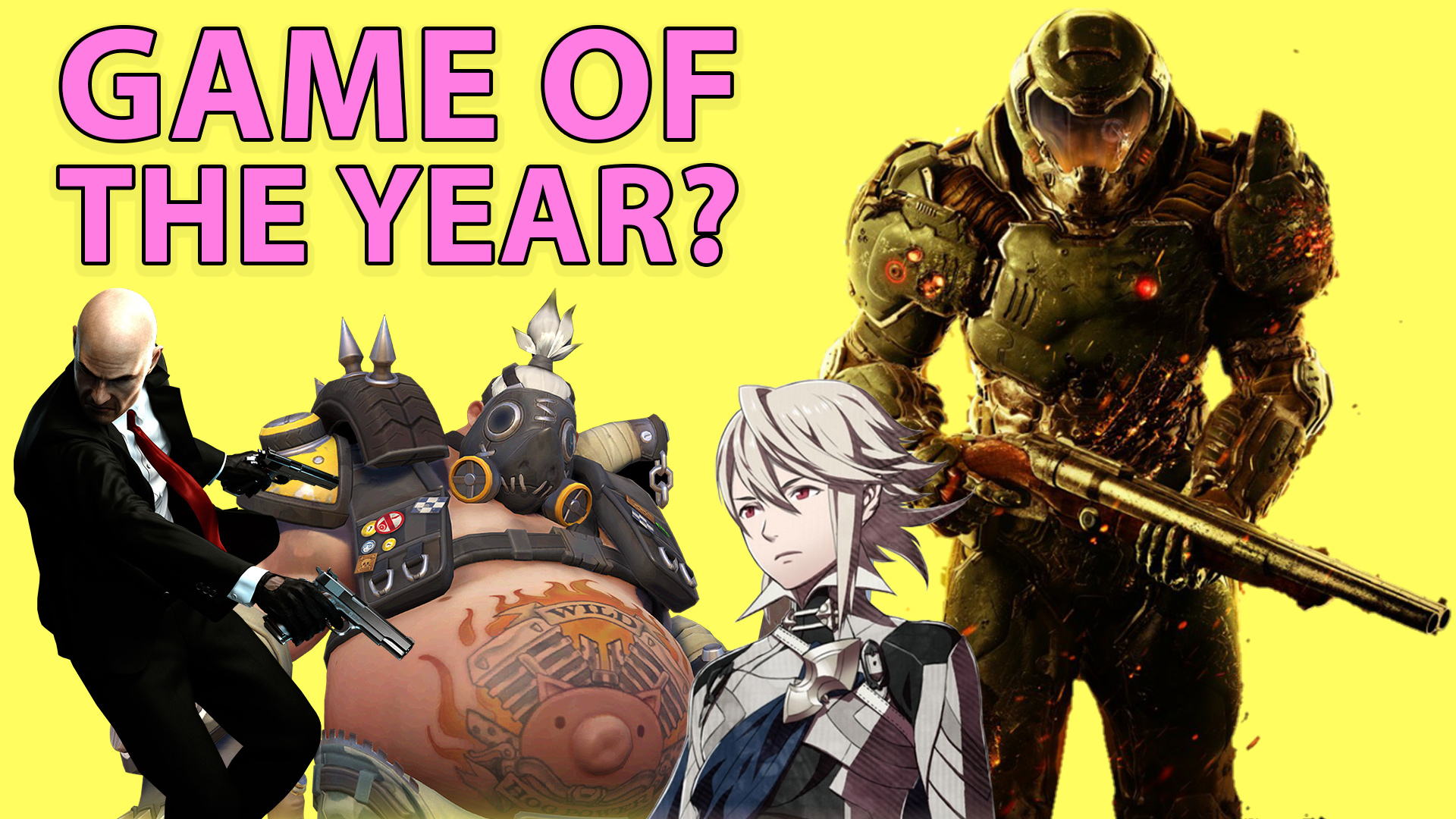 T Time, game of the year, video games, overwatch, fire emblem fates, dark souls 3, hitman, doom, the witness, salt and sanctuary, thumper, hyper light drifter, final fantasy 15
