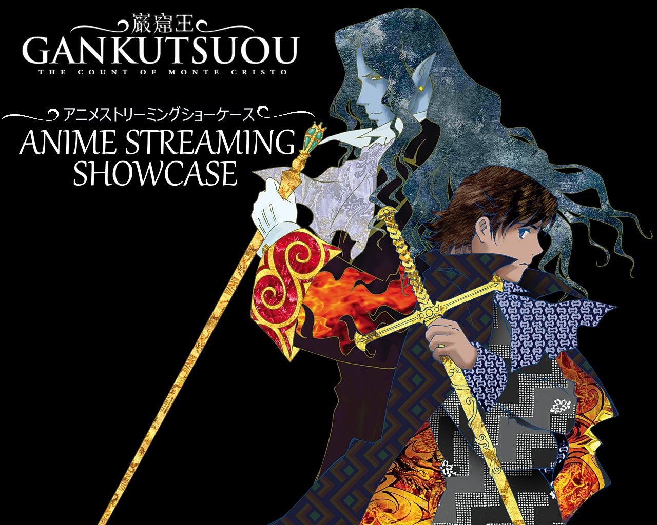 gankutsuou:, gankutsuou: The count of monte cristo, the count of monte cristo, albert, edmond, alexandre dumas, anime streaming showcase, anime, ASS, A.S.S.,