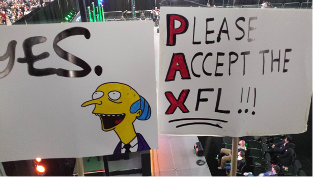 PAX, XFL, petition, Penny Arcade, NFL, football