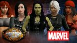 Marvel Women Super Heroes Face Off – Fantasy Fight!