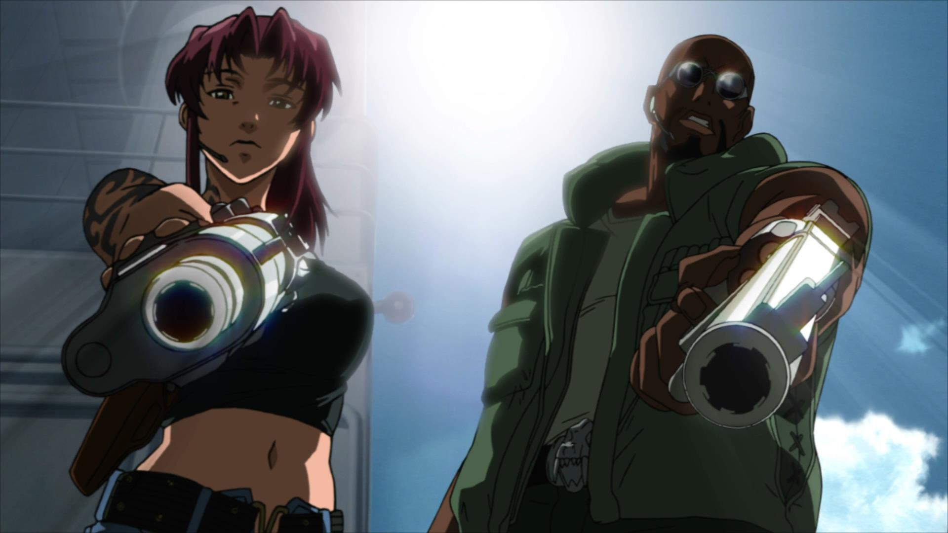 Black Lagoon, Anime, manga, anime streaming showcase, A.S.S., Summer of A.S.S., #SummerofAss, ass, Funimation, Geneon,Rei Hiroe