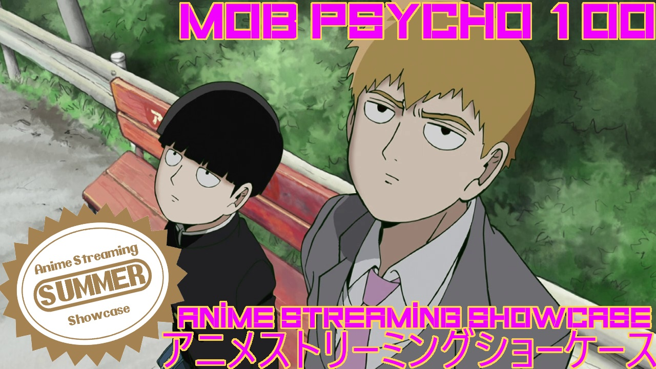 Mob Psycho 100, Mob, anime, manga, A.S.S., anime streaming showcase, ASS, Youtube, video, Funimation, Crunchyroll,
