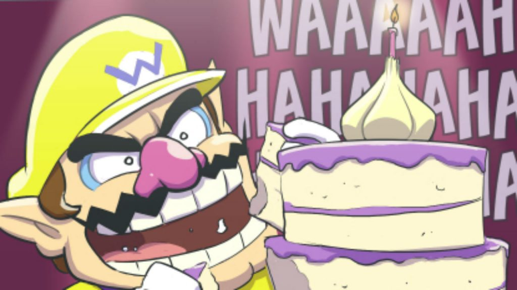 celebrate wario s 25th birthday with this amazing comic laser time