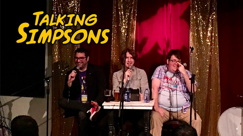 talking simpsons live the many jobs of homer simpson laser time